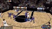 【幻竹神操作】《NBA2K OL》马刺VS国王,神一样的队友.
