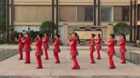 大悟县河口阳光舞蹈队广场舞《种南瓜》