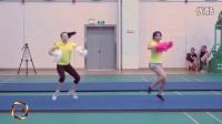 2015全国啦啦操暑期教练员培训班示范视频(许波老师花球)