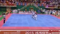 2015年跆拳道HMD武艺大会-跆拳舞6虎队女团
