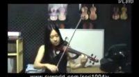 韩国女孩拉小提琴 土耳其进行曲