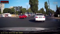 战斗民族摩托车事故碰撞路怒汇编