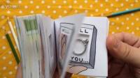 创意求婚Flipbook Proposal with Hidden Engagement Ring Compartment