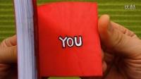 创意翻页动画Valentine's Day Flip Book (My Heart Beats Only For You)