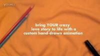 创意翻页动画The Story of Us (a cartoon flipbook)