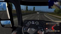 【斑条豌豆】欧洲卡车模拟2 又撞车了