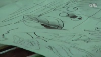 中国工笔画教学——果熟来禽图临摹步骤1