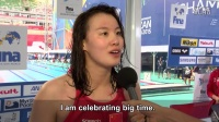 50米仰泳冠军傅园慧赛后访谈