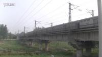 霸州   京九线    老堤特大桥拍摄X111次固安-石龙
