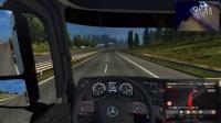【斑条豌豆】欧洲卡车模拟2 上来就被大巴给撞了