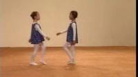 中国舞考级二级走步和敬礼