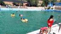 20150812未来英语游泳班深水跳水示范课