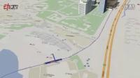 两分钟3D俯瞰天津爆炸全景 损毁情况是这样的!_高清