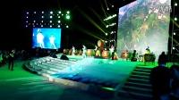 句容工商银行太极队在第二届中国句容葡萄节暨慈善晚会上的表演