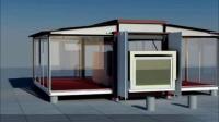 小型集裝箱改造成家庭别墅