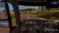【斑条豌豆】欧洲卡车模拟2 实力作死出车祸