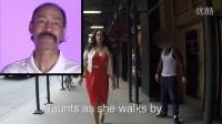 【微视街访】@微视TV-HOT爸爸看到女儿们被路人指指点点的反应