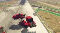 【油管游戏】Vanoss GTA 5 有趣時刻 - 拖车龙卷风(中文字幕)