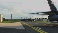 [F-22] F-22 Raptors Landing At Spangdahlem Air Base, Germany