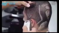 (托尼安凯)超屌发型师头发上雕刻艺术