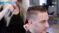 (托尼安凯)美女发型师教你制作流行型男背头