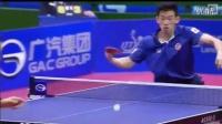 乒乓球明星技术之 香港直板【黄镇廷技术慢镜头解析】 他的直板发球如何?