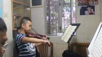 小提琴教学贝利奥特第9协(俞炘炀8岁