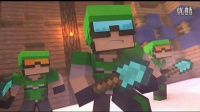 Minecraft-海星C《我的世界微电影The Game of SPLEEF》