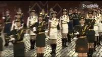 中国仪仗队女兵海外亮相 枪操表演引全场尖叫 1