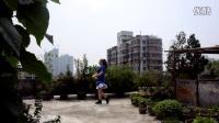 广州美丽依旧舞蹈课堂时尚恰恰之一正面演示