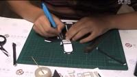 【模蛇】95式纸手工 纸模型制作 演示 第二天