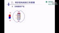 【微课】同步发电机的基本工作原理