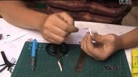 【模蛇】95式纸手工 纸模型制作 演示 第三天