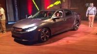 2016 全新本田思域Honda Civic  美国发布