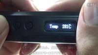小马哥蒸汽烟 绿之叶IPV D2温控调压盒子介绍及按键使用教程