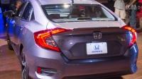 2016本田Honda Civic - 2015法兰克福车展