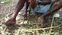 南美州土著人制作的竹弓
