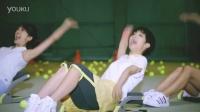 日本运动器材WonderCone搞笑广告「倒れるだけで・収納」篇 30秒