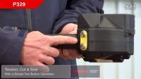 PET带电动打包机 塑钢带捆扎机 充电式手持打带机 P329全新上市