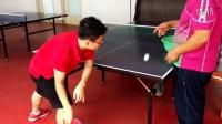 《乒乓球技术训练》新学乒乓球之正手拉球练习