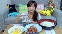 【大食い】培根荷包蛋大餐【木下ゆうか】
