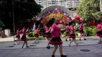广州美丽依旧舞蹈课堂团队正面演示之一
