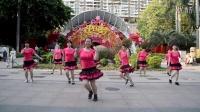 广州美丽依旧舞蹈课堂团队正面演示之九