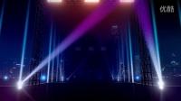 灯光璀璨的城市大舞台LED背景视频素材