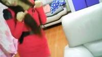 ヾ★ゞ小蕊_红色连衣裙跳舞