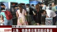 国庆假期第一天·出行:长假首日铁路发送旅客1300万人次 北京您早 151002_高清