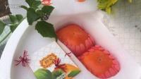 """洁白如玉的心形包装盒和雪白朦胧的感觉让一对甜柿子显得格外浪漫,再加上""""一生一柿、131柿""""…自然酥脆甜美,这是完美爱情的味道吗4000990868"""
