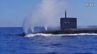 美国战略核潜艇紧急下潜
