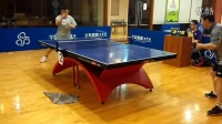 《巧遇湿父打乒乓球系列》第一集:湿父对战老宋攻防大战