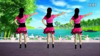 最新广场舞《潇洒走一回》吕芳广场舞正背面及分解动作